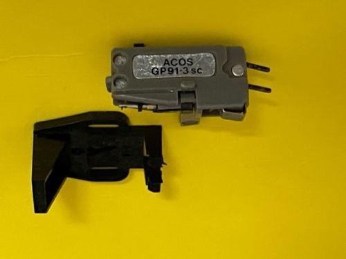 Acos GP91-3 Crystal MONO Cartridge with LP/78Styli
