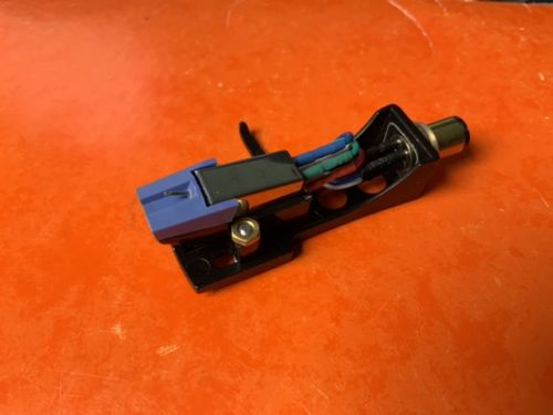 General Purpose Magnetic Cartridge for 78 RPM Fitted to BLACK Headshell
