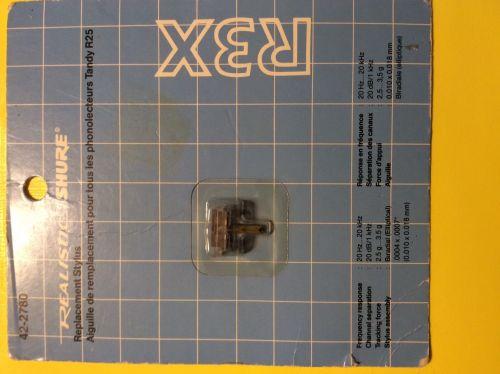 SHURE/ Realistic  Original R3X Stylus